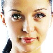 Close-up portrait of beautiful woman — Stock Photo