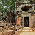 Angkor Wat in Siem Reap, Cambodia. — 图库照片 #51655237