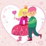 Be my Valentine 1 — Stock Vector #1613260