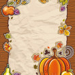 Thanksgiving antique paper backgrounds — Stock Vector #4262201