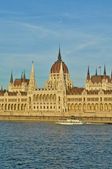 The Hungarian Parliament Building — Стоковое фото