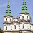 图库照片: Old Greek Catholic Cathedral in Ternopil, Ukraine