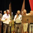 Christian singers perform at the concert dedicated to the &quot;Fragrance Divine&quot; CD release - Stock Photo