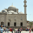 Tourists near Valide SultMosque — Stock Photo #19239025