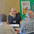 Participants and visitors at International Christian Publishers Book Forum 'Marketsquare Europe 2012' — Stock Photo