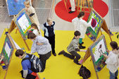 Kids area at Leipzig Book fair — Stock Photo