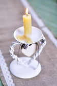 Piękny wzór świecznik — Zdjęcie stockowe