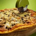 Italian pizza — Stock Photo