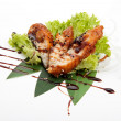 Sashimi fried perch — Stock Photo