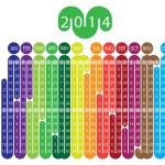 Calendar 2014 — Stock Vector #25647307