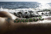 On the beach — Zdjęcie stockowe