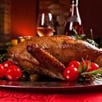 Holiday turkey — Stock Photo #35124983