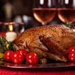 Holiday turkey — Stock Photo