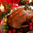 Stock Photo: Holiday turkey