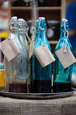 Old-fashioned bottles — Stock Photo