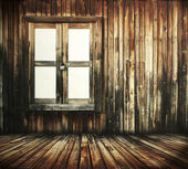 Raum aus Holz — Stockfoto