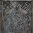 Stock Photo: Reliefs on church bell of St. SophiCathedral (Novgorod, Kr