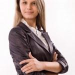 Confident business woman — Stock Photo