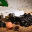 Royalty-Free Stock Photo: Vintage still life with typewriter