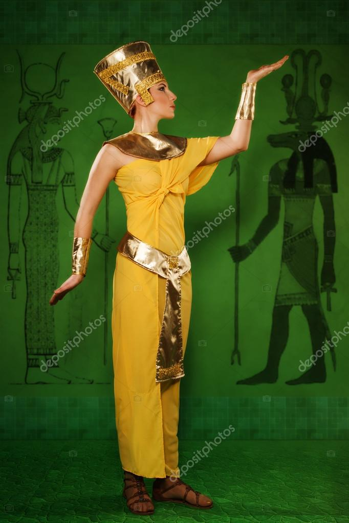 Egyptisk farao kvinna