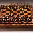 Royalty-Free Stock Photo: Chessmen on a chessboard