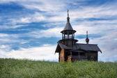 Serv de madera isla kizhi, karelia — Foto de Stock