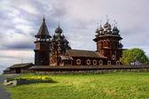 île de kizhi cathédrale, transfiguration, carélie — Photo