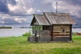 Trä churche kizhi island, karelen — Stockfoto