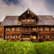 Peasant house, Kizhi Island, Russia — Stock Photo