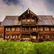 Peasant house, Kizhi Island, Russia — Stock Photo #27850745