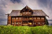 Maison du paysan, l'île de kizhi, russie — Photo