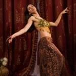 Arabic belly dancer dancing — Stock Photo #32512777