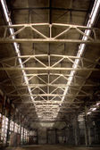 引发的工厂 — 图库照片