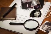 Set detective — Stock Photo