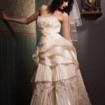 Gothic bride — Stock Photo