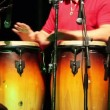 Стоковое видео: Mplaying percussion on concert