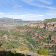 Stock Photo: Panoramic view of mountain canyon