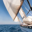 Sailing yacht on the race — Stock Photo #15736041