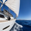Sailing boat in the sea — Stock Photo #35365233