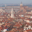 Stock Photo: Roofs of venetihouses
