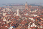 Roofs of venetian houses — Stock Photo