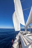 Velero en el mar — Foto de Stock