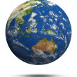 Australia and oceania — Stock Photo