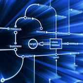 Concept database — Stock Photo