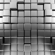 Silver abstract cubes — Stock Photo #14049769