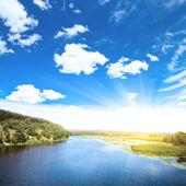 Hermoso río — Foto de Stock