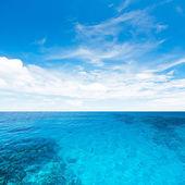 Sea and sky — Stock Photo