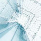 Arkitektur konstruktion — Stockfoto