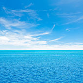 Ocean and sky — Stock Photo