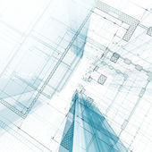 Architecture blueprint — Stock Photo